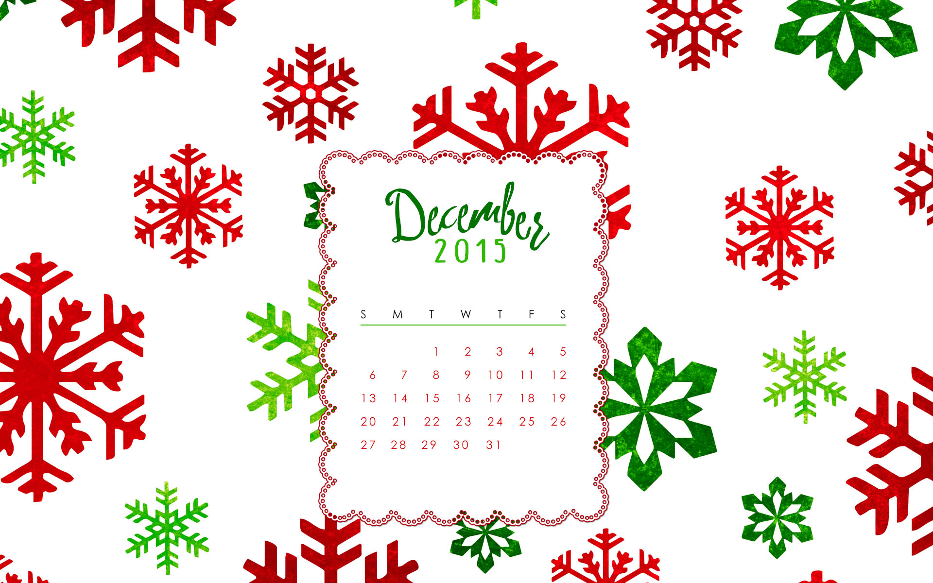 December Calendar Art : Free december calendar background