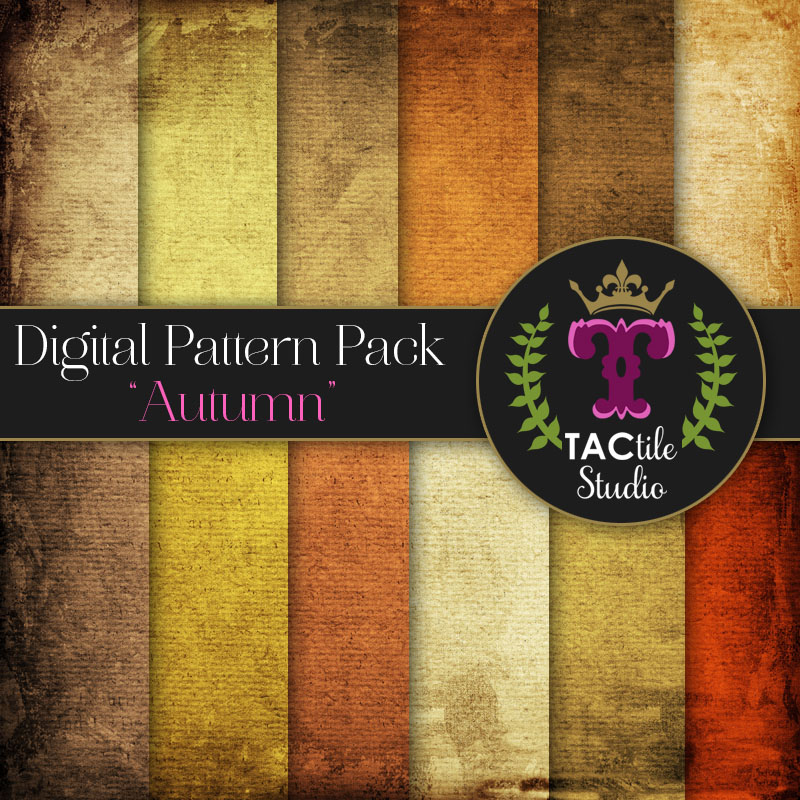 Autumn Digital Paper Pack