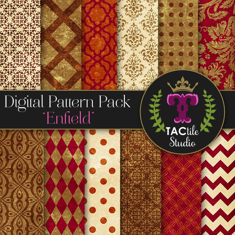Enfield Digital Paper Pack