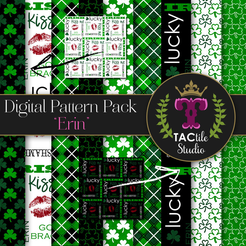Erin Digital Paper Pack