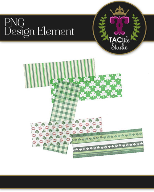 Decorative Tape : St. Patrick's Day
